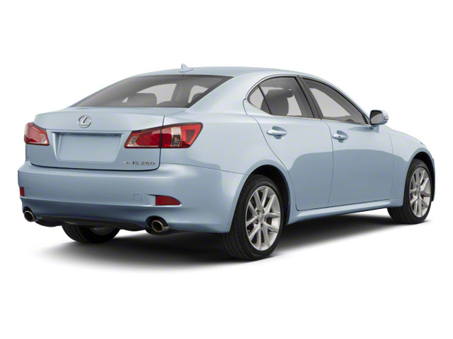 Cerulean Blue Metallic 2011 Lexus IS 250 Pictures IS 250 Sedan 4D IS250 photos rear view