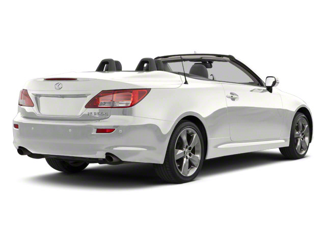 Starfire Pearl 2011 Lexus IS 350C Pictures IS 350C Convertible 2D IS350 photos rear view