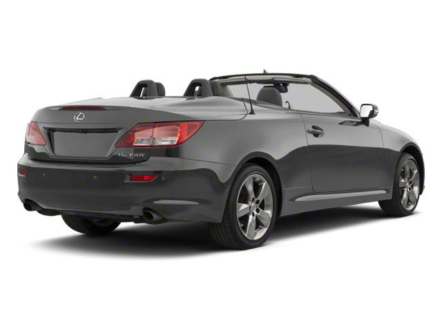 Smoky Granite Mica 2011 Lexus IS 350C Pictures IS 350C Convertible 2D IS350 photos rear view