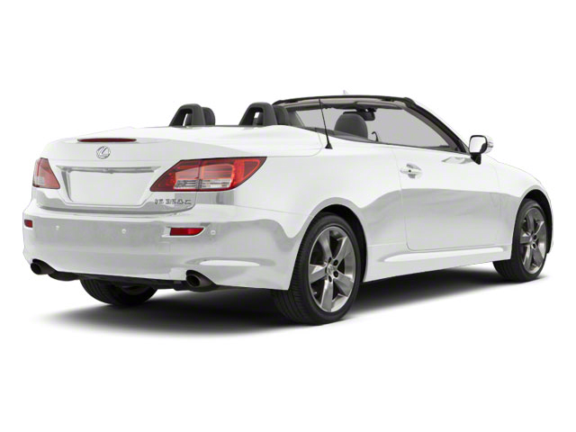 Tungsten Pearl 2011 Lexus IS 350C Pictures IS 350C Convertible 2D IS350 photos rear view