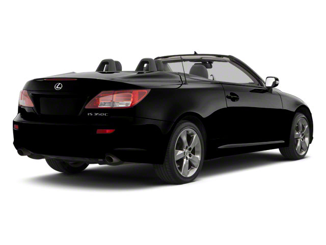Obsidian 2011 Lexus IS 350C Pictures IS 350C Convertible 2D IS350 photos rear view