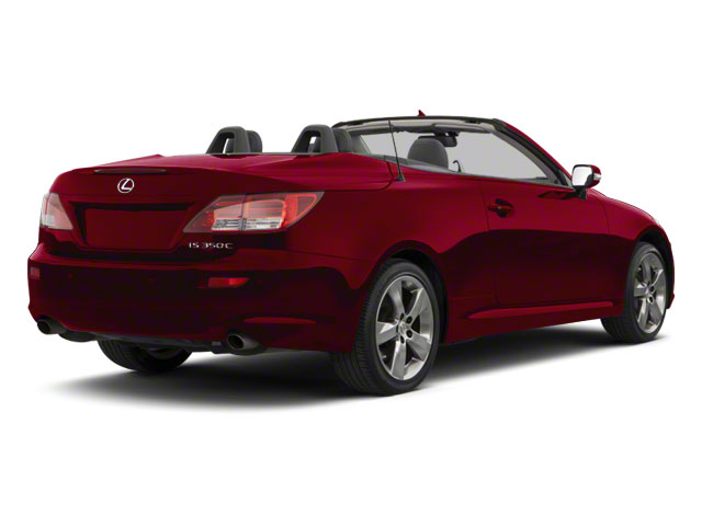 Matador Red Mica 2011 Lexus IS 350C Pictures IS 350C Convertible 2D IS350 photos rear view