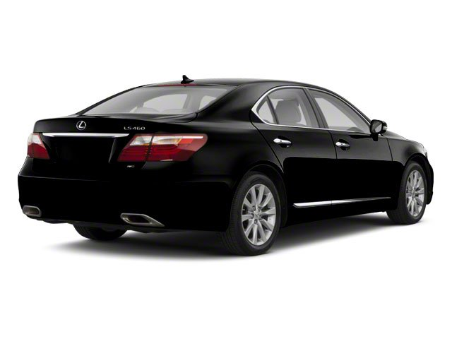 Obsidian 2011 Lexus LS 460 Pictures LS 460 Sedan 4D LS460L photos rear view