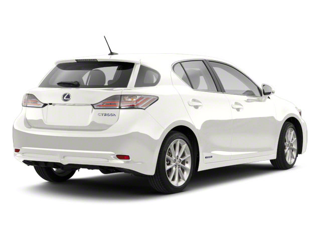Starfire Pearl 2011 Lexus CT 200h Pictures CT 200h Hatchback 5D CT200h photos rear view