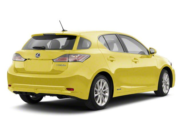 Daybreak Yellow Mica 2011 Lexus CT 200h Pictures CT 200h Hatchback 5D CT200h photos rear view