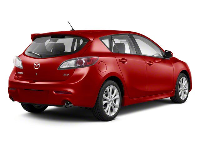 Velocity Red Mica 2011 Mazda Mazda3 Pictures Mazda3 Wagon 5D s Sport photos rear view