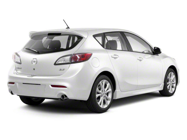 Crystal White Pearl Mica 2011 Mazda Mazda3 Pictures Mazda3 Wagon 5D s Sport photos rear view