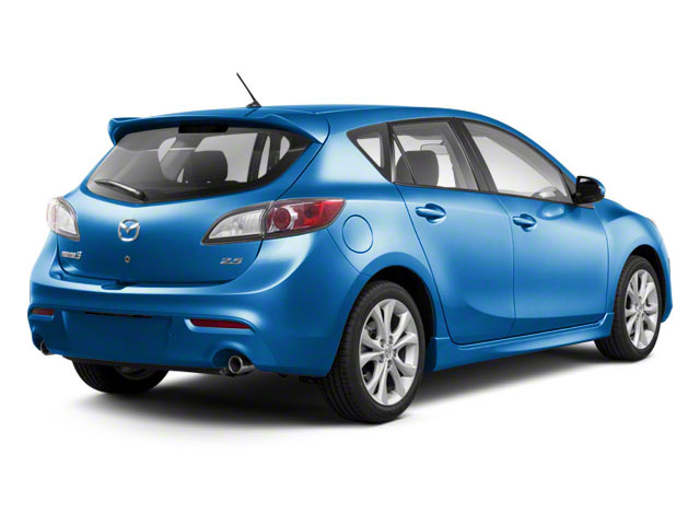Celestial Blue Mica 2011 Mazda Mazda3 Pictures Mazda3 Wagon 5D SPEED photos rear view
