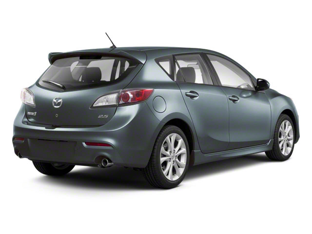 Gunmetal Blue Mica 2011 Mazda Mazda3 Pictures Mazda3 Wagon 5D s Sport photos rear view