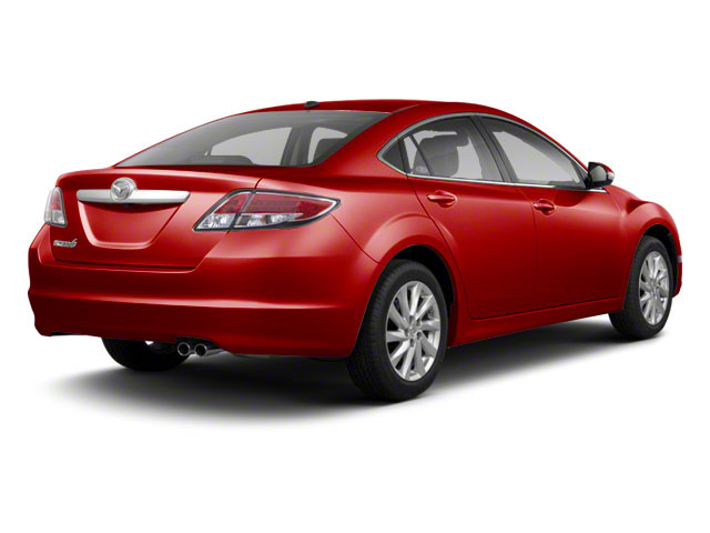 Sangria Red Mica 2011 Mazda Mazda6 Pictures Mazda6 Sedan 4D i Touring Plus photos rear view