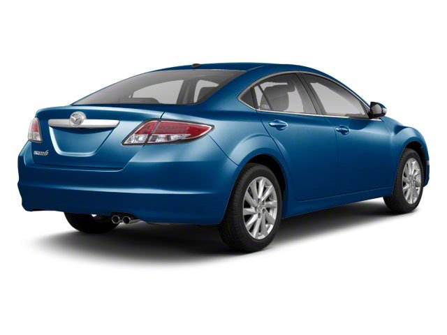 Kona Blue Mica 2011 Mazda Mazda6 Pictures Mazda6 Sedan 4D i Touring Plus photos rear view