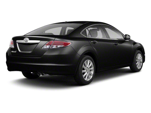 Ebony Black 2011 Mazda Mazda6 Pictures Mazda6 Sedan 4D i Touring Plus photos rear view