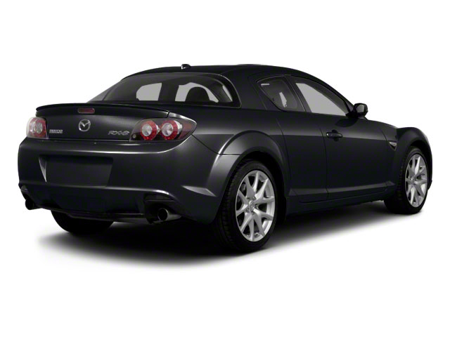 Sparkling Black Mica 2011 Mazda RX-8 Pictures RX-8 Coupe 2D photos rear view