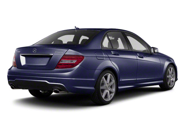 Capri Blue Metallic 2011 Mercedes-Benz C-Class Pictures C-Class Sport Sedan 4D C350 photos rear view