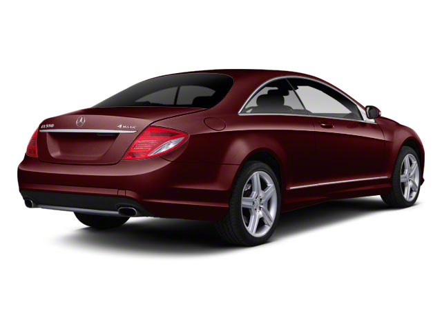 Designo Mystic Red Metallic 2011 Mercedes-Benz CL-Class Pictures CL-Class Coupe 2D CL63 AMG photos rear view