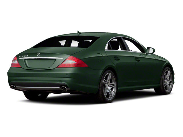 Jade Green Metallic 2011 Mercedes-Benz CLS-Class Pictures CLS-Class Sedan 4D CLS63 AMG photos rear view