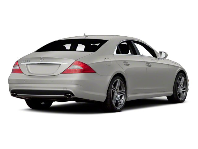 Iridium Silver Metallic 2011 Mercedes-Benz CLS-Class Pictures CLS-Class Sedan 4D CLS63 AMG photos rear view