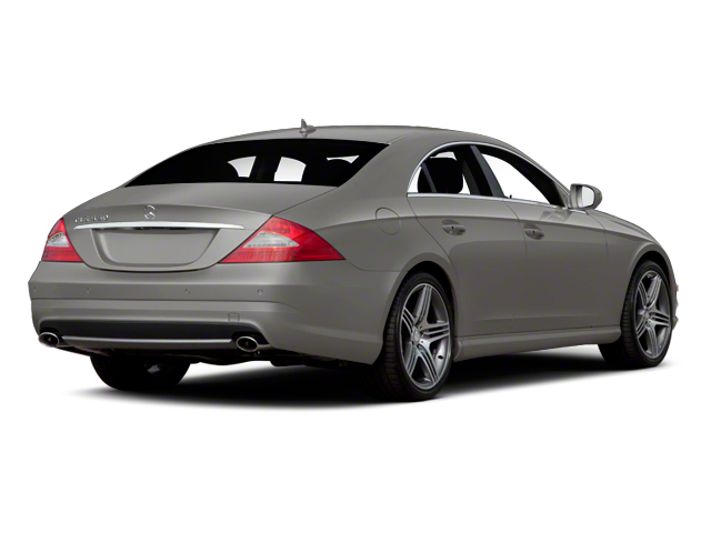 Palladium Silver Metallic 2011 Mercedes-Benz CLS-Class Pictures CLS-Class Sedan 4D CLS63 AMG photos rear view