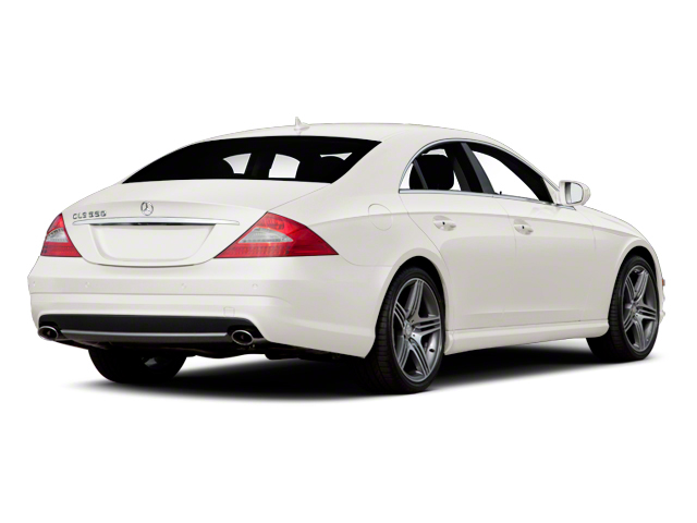 Diamond White Metallic 2011 Mercedes-Benz CLS-Class Pictures CLS-Class Sedan 4D CLS63 AMG photos rear view