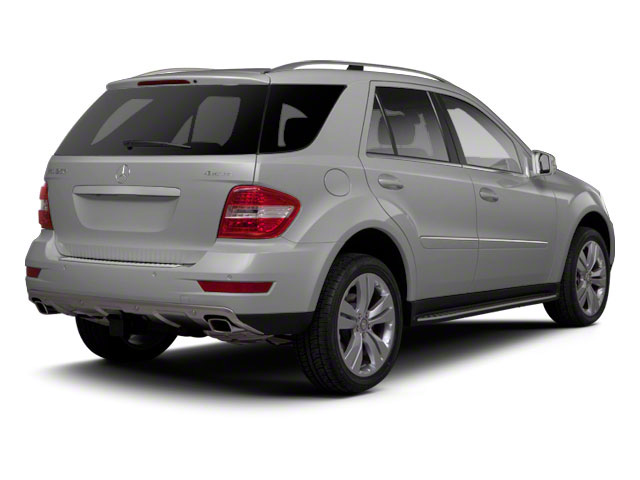 Iridium Silver Metallic 2011 Mercedes-Benz M-Class Pictures M-Class Utility 4D ML550 AWD photos rear view