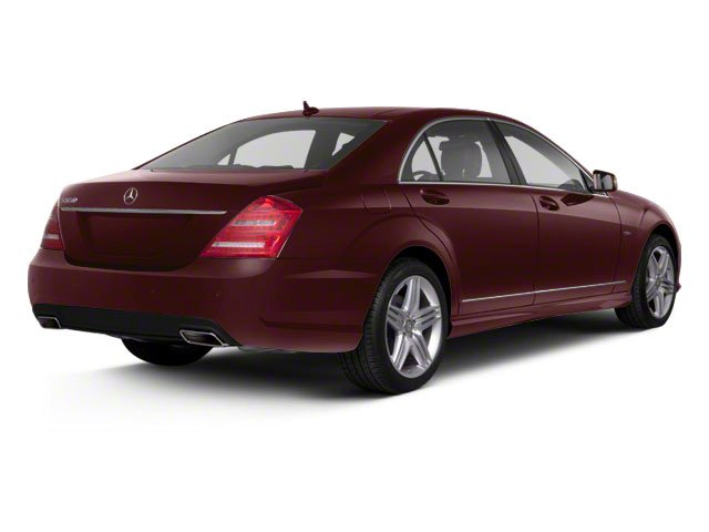 Designo Mystic Red Metallic 2011 Mercedes-Benz S-Class Pictures S-Class Sedan 4D S600 photos rear view