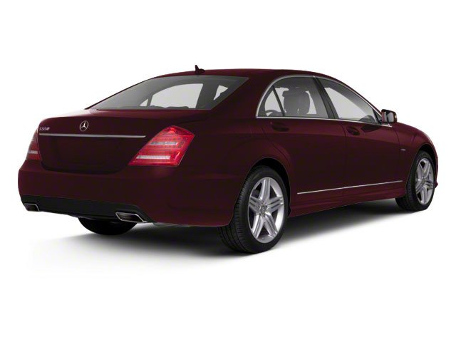 Designo Mauritius Red Metallic 2011 Mercedes-Benz S-Class Pictures S-Class Sedan 4D S600 photos rear view