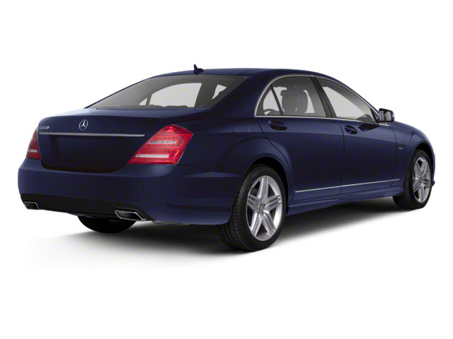 Capri Blue Metallic 2011 Mercedes-Benz S-Class Pictures S-Class Sedan 4D S600 photos rear view