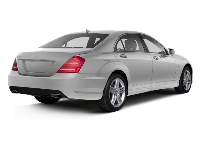 Iridium Silver Metallic 2011 Mercedes-Benz S-Class Pictures S-Class Sedan 4D S600 photos rear view