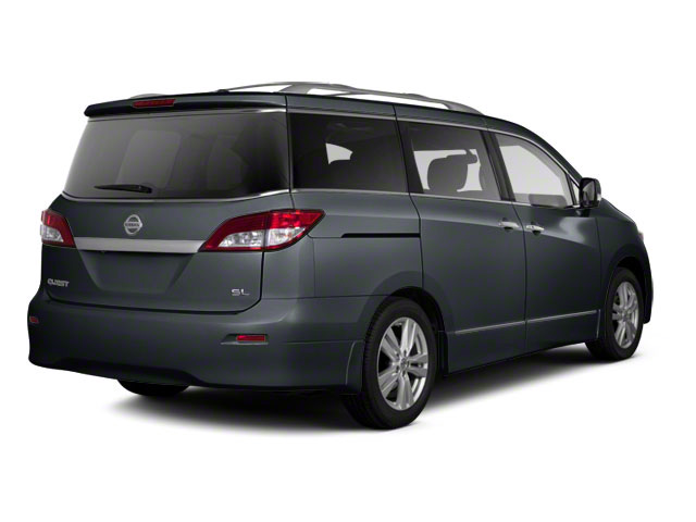 Twilight Gray 2011 Nissan Quest Pictures Quest Van 3.5 SL photos rear view