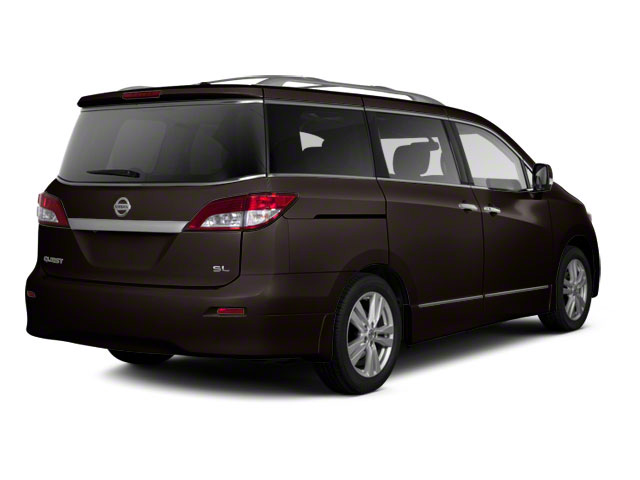 Dark Mahogany 2011 Nissan Quest Pictures Quest Van 3.5 SL photos rear view