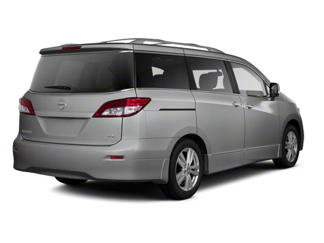 Brilliant Silver 2011 Nissan Quest Pictures Quest Van 3.5 S photos rear view