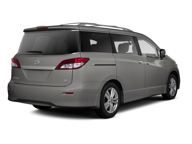 Titanium Beige 2011 Nissan Quest Pictures Quest Van 3.5 S photos rear view