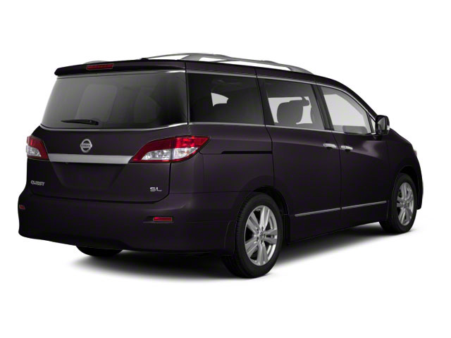 Black Amethyst 2011 Nissan Quest Pictures Quest Van 3.5 SL photos rear view