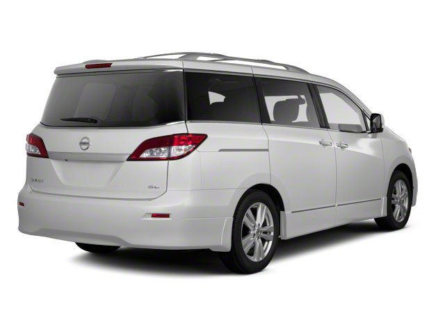 White Pearl 2011 Nissan Quest Pictures Quest Van 3.5 SL photos rear view
