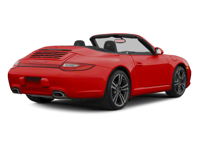 Guards Red 2011 Porsche 911 Pictures 911 Cabriolet 2D S photos rear view