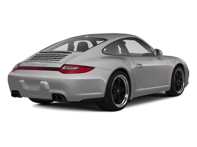 Platinum Silver Metallic 2011 Porsche 911 Pictures 911 Coupe 2D 4S Targa AWD photos rear view