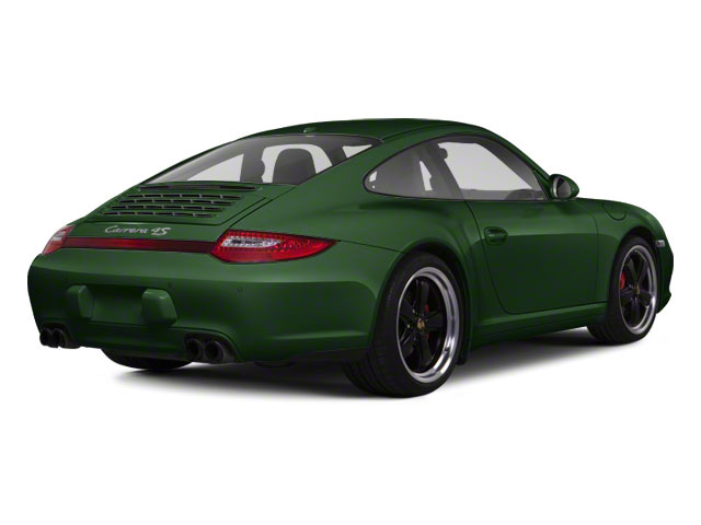 Porsche Racing Green Metallic 2011 Porsche 911 Pictures 911 Coupe 2D Turbo S AWD photos rear view