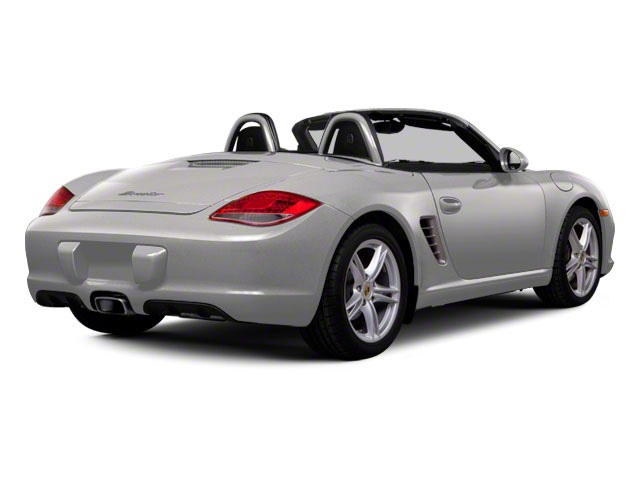 Platinum Silver Metallic 2011 Porsche Boxster Pictures Boxster Roadster 2D Spyder photos rear view