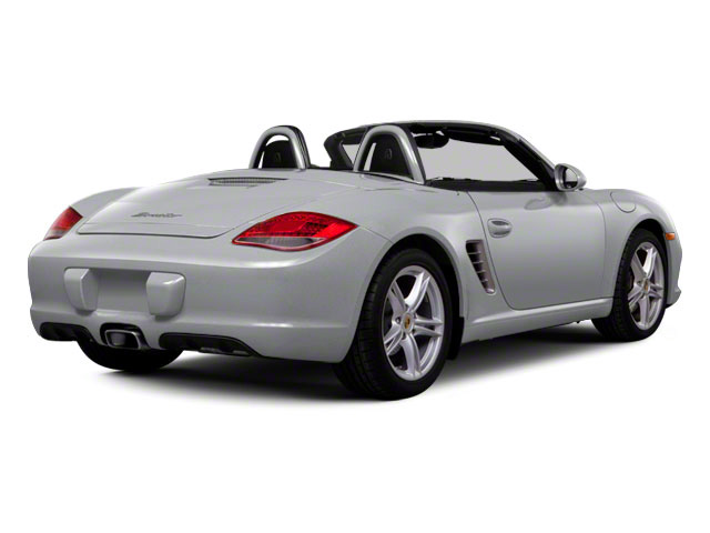 Arctic Silver Metallic 2011 Porsche Boxster Pictures Boxster Roadster 2D Spyder photos rear view