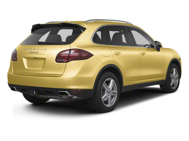 Sand Yellow 2011 Porsche Cayenne Pictures Cayenne Utility 4D AWD (V6) photos rear view