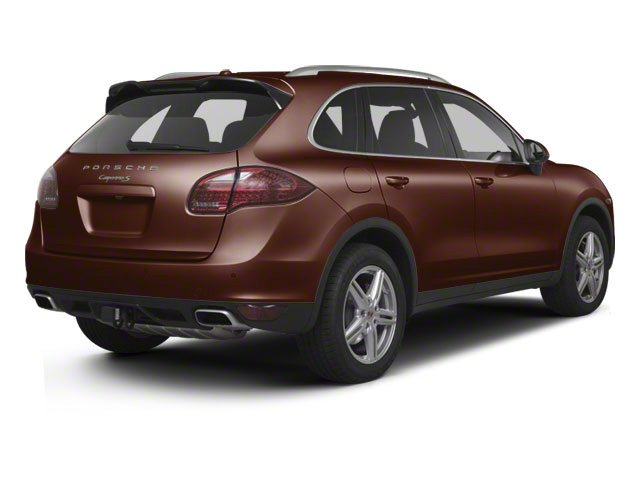 Auburn Metallic 2011 Porsche Cayenne Pictures Cayenne Utility 4D AWD (V6) photos rear view