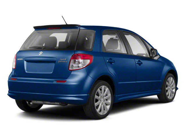 Deep Sea Blue Metallic 2011 Suzuki SX4 Pictures SX4 Hatchback 5D photos rear view