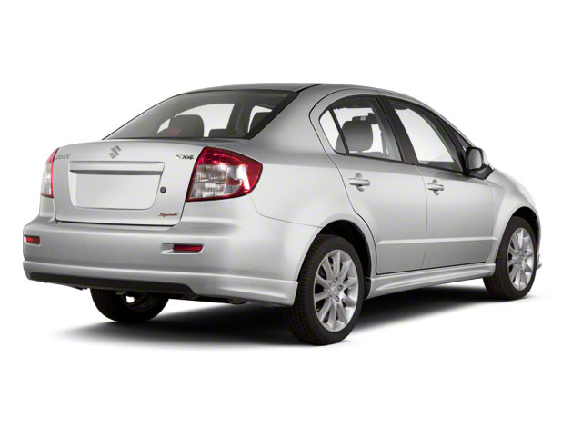 Quicksilver Metallic 2011 Suzuki SX4 Pictures SX4 Sedan 4D Anniversary photos rear view