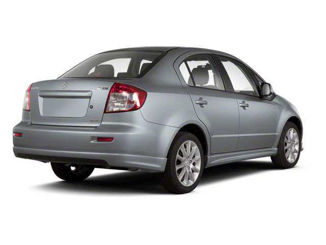 Azure Grey Metallic 2011 Suzuki SX4 Pictures SX4 Sedan 4D Anniversary photos rear view