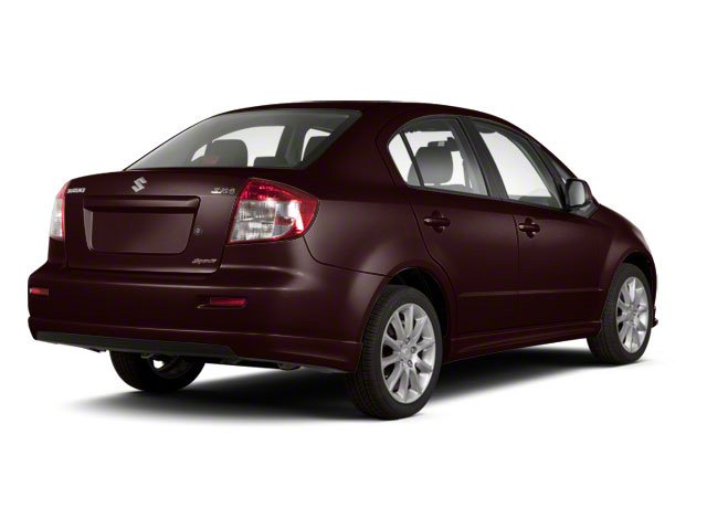 Cherry Red Metallic 2011 Suzuki SX4 Pictures SX4 Sedan 4D Anniversary photos rear view