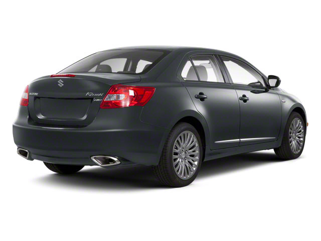 Azure Gray Metallic 2011 Suzuki Kizashi Pictures Kizashi Sedan 4D GTS AWD photos rear view