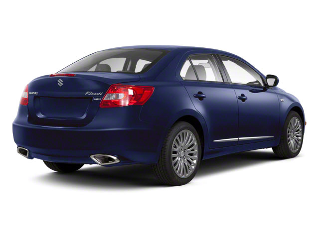 Deep Sea Blue Metallic 2011 Suzuki Kizashi Pictures Kizashi Sedan 4D SE AWD photos rear view