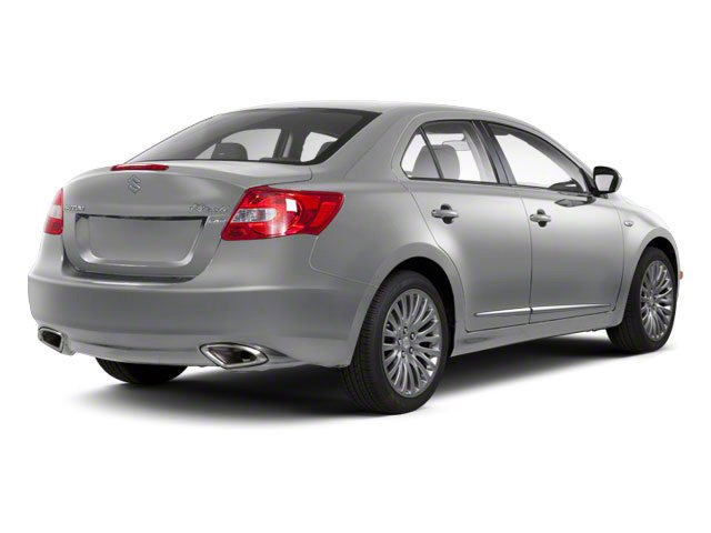 Platinum Silver Metallic 2011 Suzuki Kizashi Pictures Kizashi Sedan 4D SE AWD photos rear view