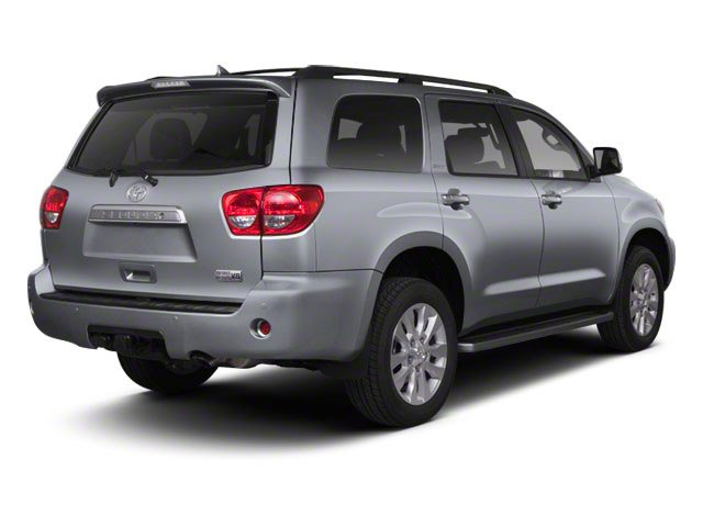Silver Sky Metallic 2011 Toyota Sequoia Pictures Sequoia Utility 4D Limited 4WD photos rear view