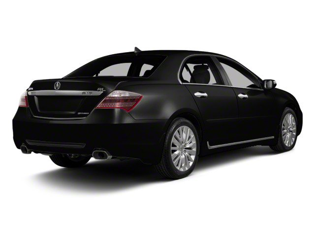 Crystal Black Pearl 2012 Acura RL Pictures RL Sedan 4D Technology photos rear view